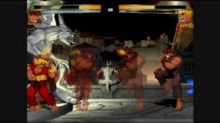 Classic Battles   Demon Ryu vs Evil Ken   Mugen Fights