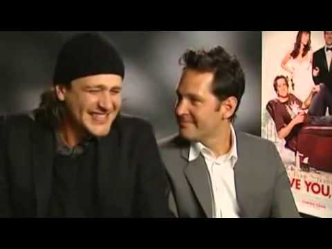 Jason Segel and Paul Rudd Are So High During