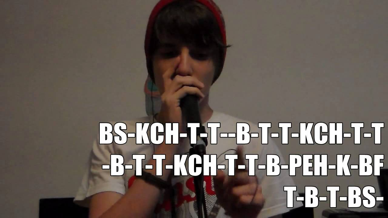 ro beatbox tutorial two h percussion beatbox with lyrics hd youtube