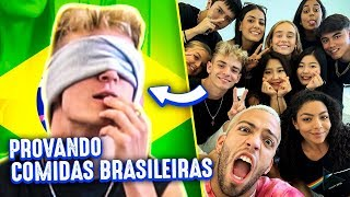 BRAZILIAN FOOD CHALLENGE ft. Now United