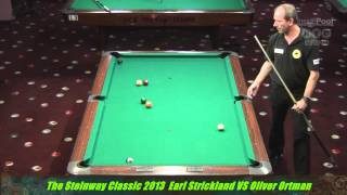 Earl Strickland v Oliver Ortmann at the Steinway Classic 2013