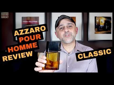 Azzaro Pour Homme Review | Azzaro Pour Homme by Azzaro Fragrance Review + Full Bottle USA Giveaway