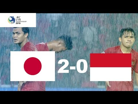 JAPAN U-19 VS INDONESIA U-19 (Quarterfinal AFC U-19) 2-0