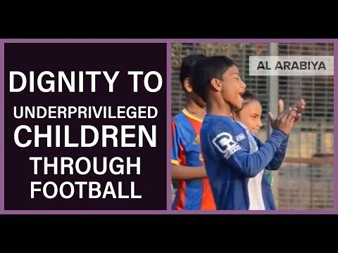 Indian coach brings dignity to underprivileged children through football