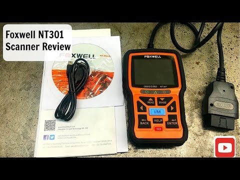 Foxwell NT301 Scanner Review, Scan Tool, Code Reader