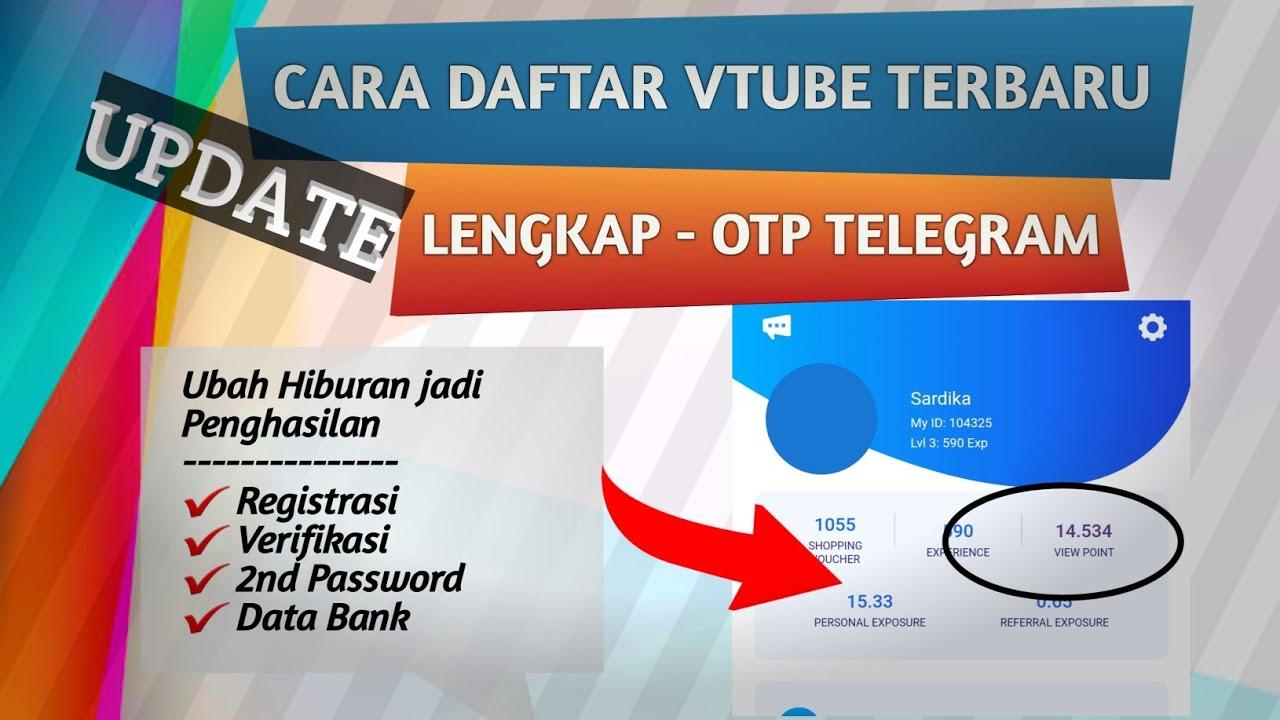 Motivasi Vtube Pesan Dari Co Founder Support System Vtube Youtube