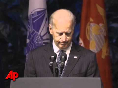 Raw Video: VP Biden, Others Remember Ted Stevens