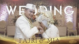 Video Wedding Romantis Fajrika dan Mia, Bikin Baper Ya !!