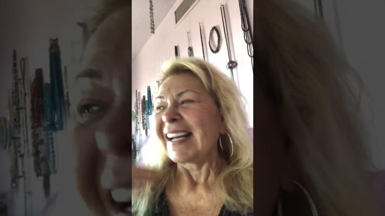 Roseanne Barr Juan o saven dinner party