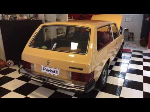 VW1600 1969 e Variant II 1981 0km Sem Uso em 2017 Reginaldo de Campinas