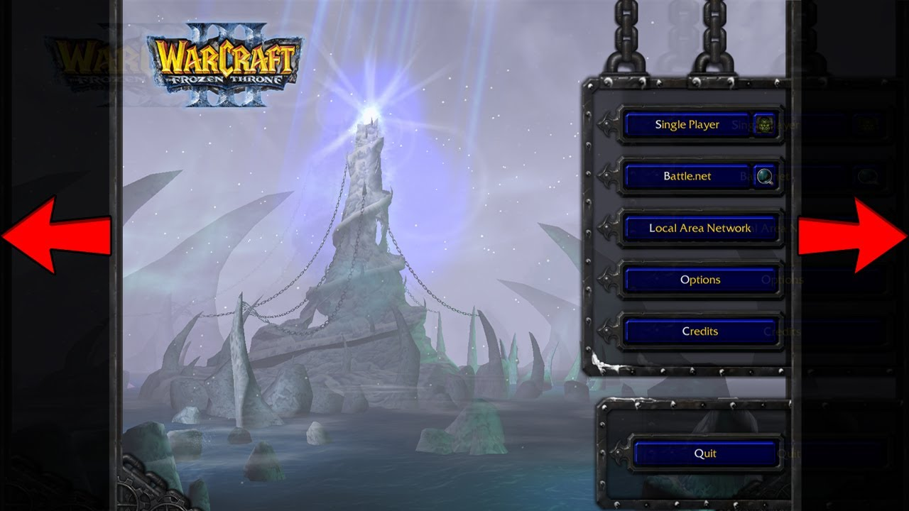 Warcraft 3 How To Fix Resolution Aspect Ratio Youtube