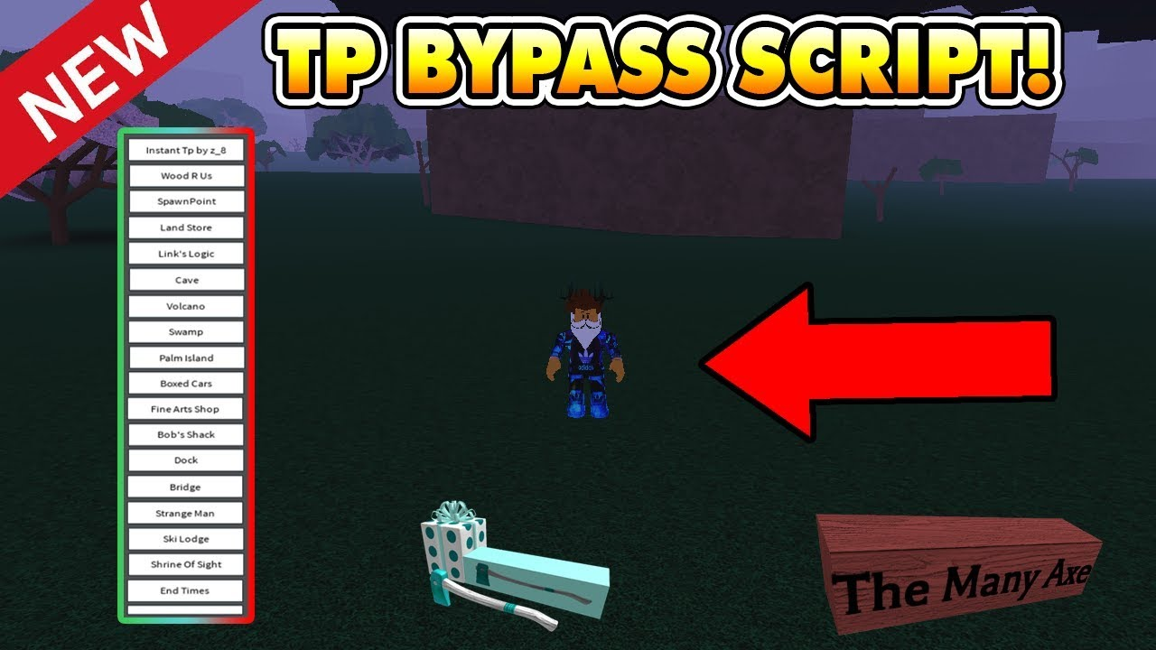 New Instant Tp Script Teleport Bypass Not Patched Lumber