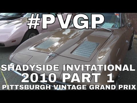 Shadyside Invitational Show Pittsburgh Vintage Grand Prix July 2010 Part 1