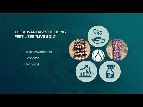 """LIVE SOIL"" – brand organo-mineral fertilizers by ECO Trade LLC"