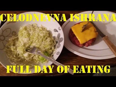Full day of eating - Celodnevna ishrana 22.06.2018.