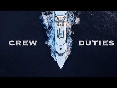 Superyacht Crew Duties | Atlantic Crossing