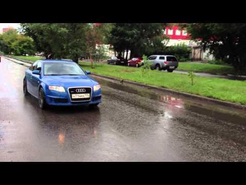 Audi A4 B7 DTM exhaust sound test pipe 034Motorsport part2