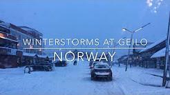Winterstorms at Geilo, Norway