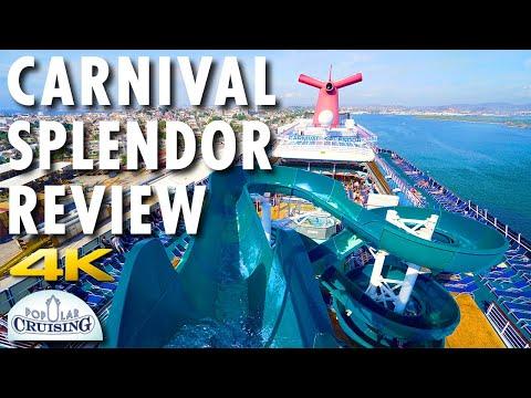 Carnival Splendor Tour & Carnival Splendor Review ~ Carnival Cruise Line ~ Cruise [4K Ultra HD]