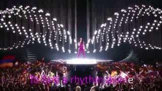 Eurovision Song Contest 2015 Grand Final - Conchita Wurst - Building Bridges (lyrics)