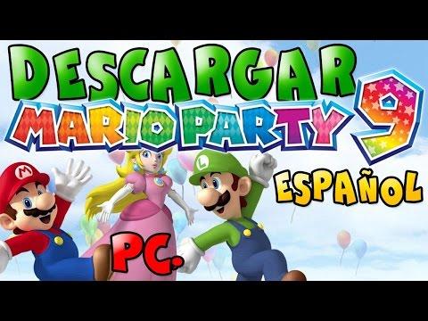 ¡DESCARGAR MARIO PARTY 9 PARA PC
