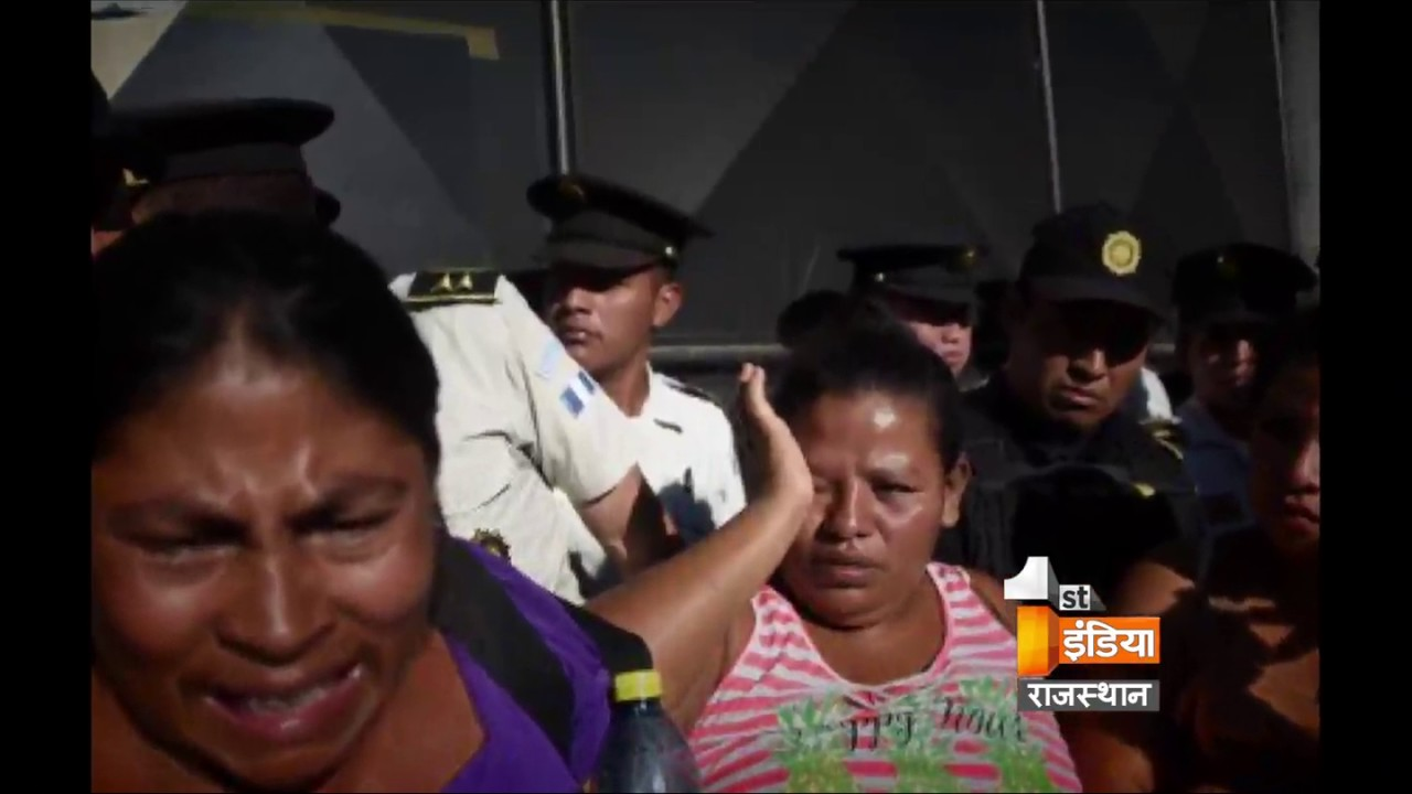 san jose pinula girls Family members react as they wait for news of their loved ones after a fire at the  virgen de asuncion home in san jose pinula, on the outskirts.