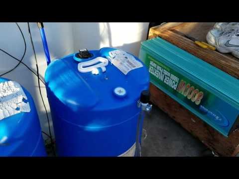 Solar Charged Water Heater