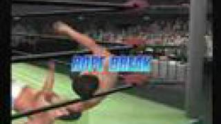 Playstation 2 jpn Kenta Kobashi vs Kensuke Sasaki video game match ...