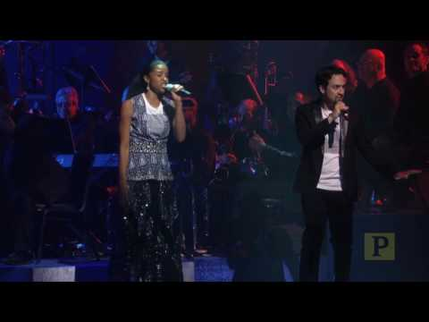 LinManuel Miranda and Renée Elise Goldsberry Rap in Support of Hillary Clinton at Gala Fundraiser