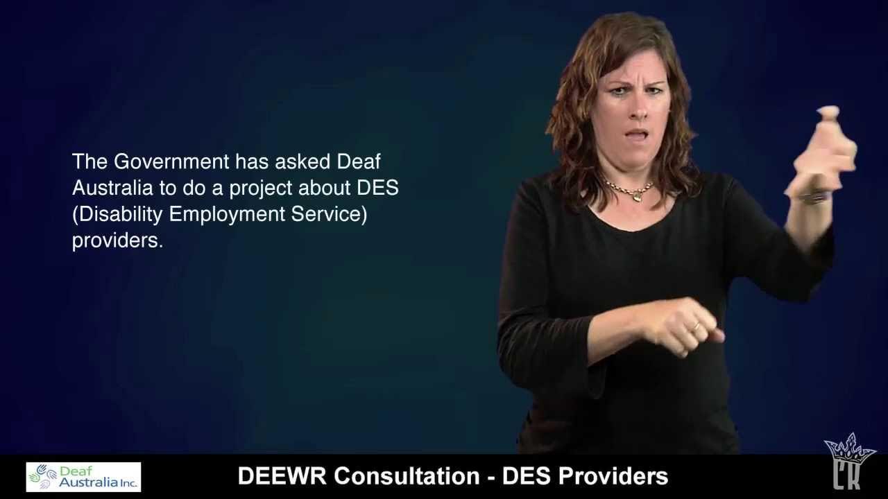 employment deaf
