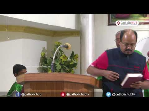 English Mass @ St  Anthony Church, Venkatapuram, Alwal, Hyd, Telangana, INDIA  29 11 17