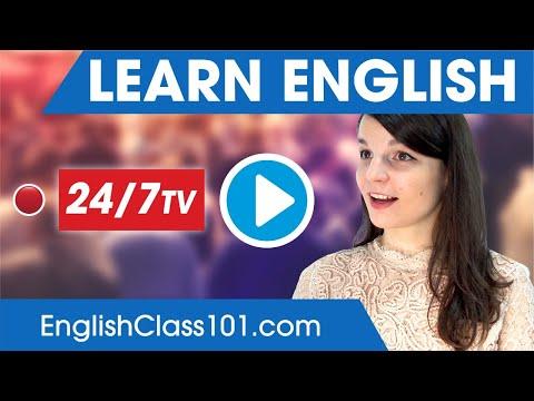 Learn English 24/7 With EnglishClass101 TV