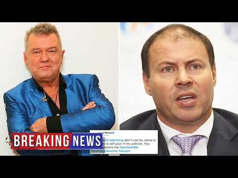 HOT NEWS Jimmy Barnes slams Josh Frydenberg for song reference | Daily Mail Online