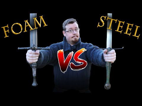 Foam Vs Steel SWORDS