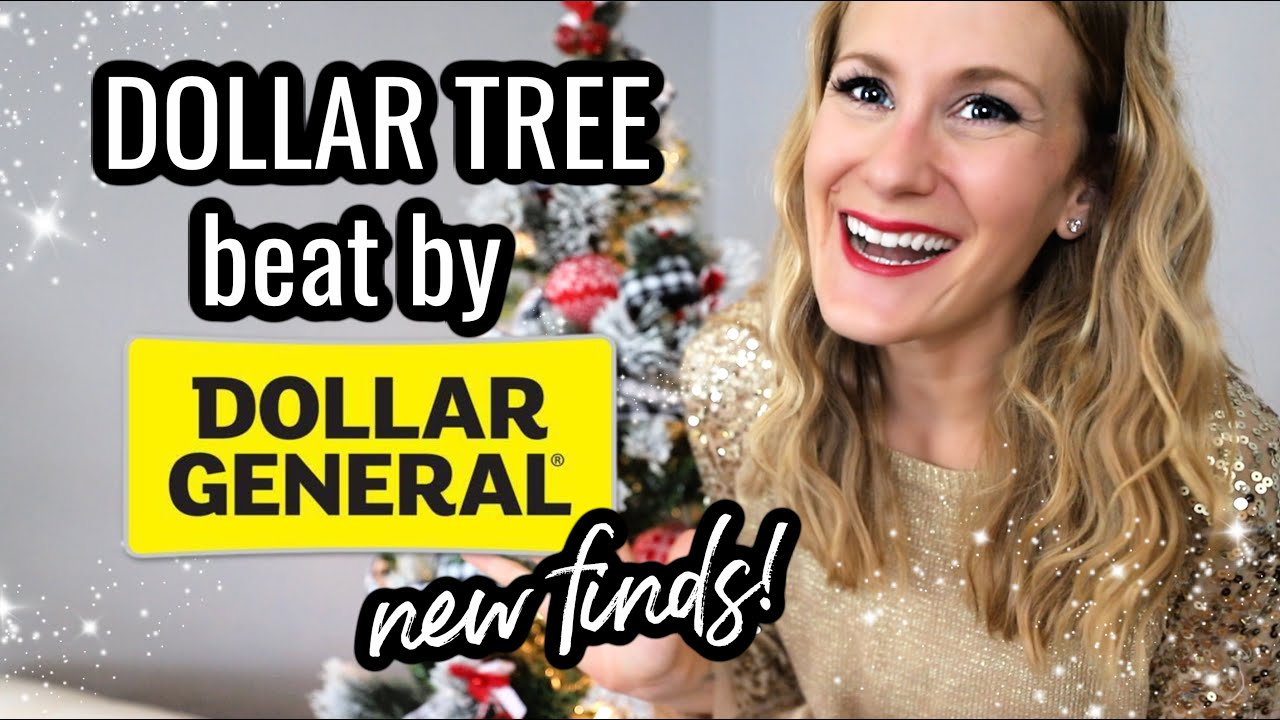 DOLLAR TREE BEAT BY DOLLAR GENERAL! 😱❤️ (not sponsored!)  Huge Christmas Haul w/ @Do It On A Dime