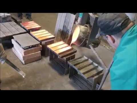 Making Brass Ingots