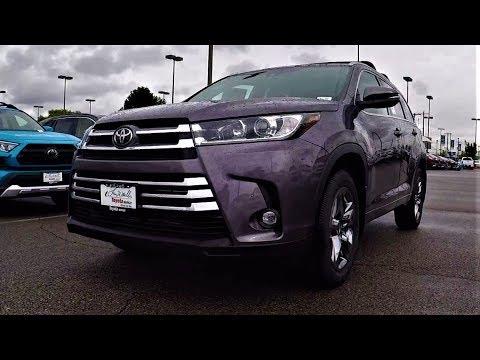 2019 Toyota Highlander Limited Platinum: Toyota's Best New 3rd Row SUV!