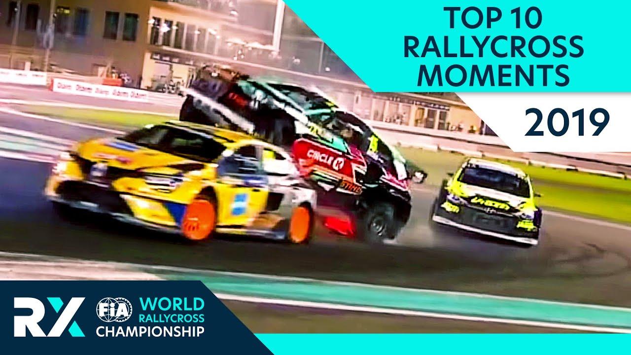 Calendrier Rallycross 2019 Championnat Du Monde.Rallycross Video Le Top 10 De La Premiere Partie Du