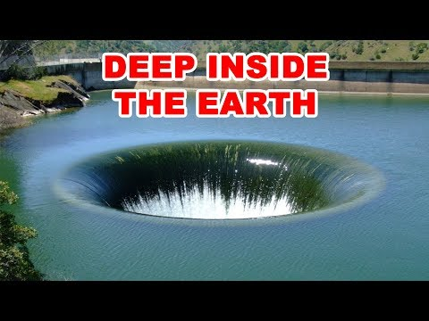 10 Mysterious Sinkholes That Go Deep Inside The Earth