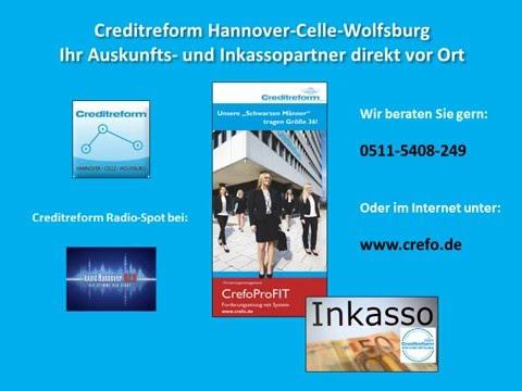 Radio Hannover - Spot - Bonitätsauskünfte und Inkasso - Creditreform - Hannover - Celle - Wolfsburg