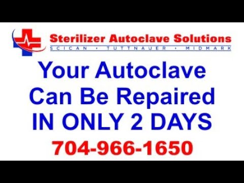 Your Autoclave Can Be Repaired In Only 2 Days