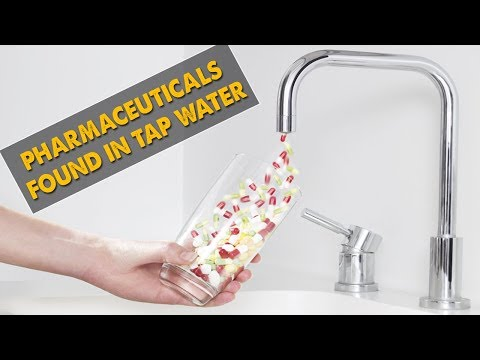 Pharmaceuticals Found In Tap Water