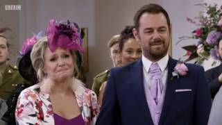 EastEnders Whitney and Lee get married with Julia's theme 4/11/16
