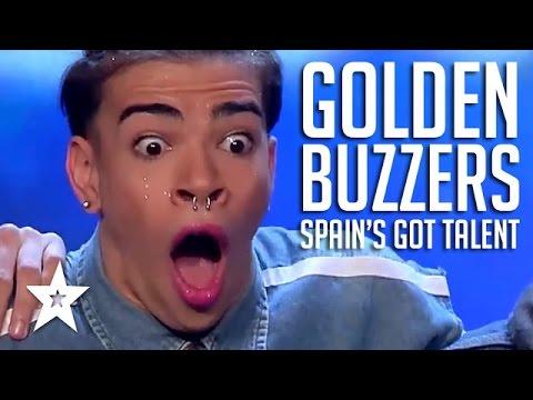 GOLDEN BUZZER Moments On Spain's Got Talent 2017 PART 1 | Got Talent Global