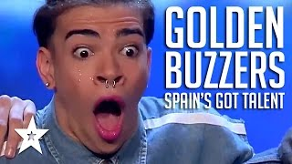 GOLDEN BUZZER Moments On Spain's Got Talent 2017 PART 1 | Got Talent Global