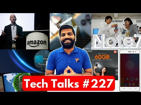 Tech Talks #227 - Note 8 360, Mi Mix 2, Gionee Jio Free, Ransomware, Google India, Vivo X9