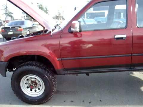 Toyota Pickup 4x4 >> HILUX QUAD CAB TOYOTA DIESEL 4X4 - YouTube