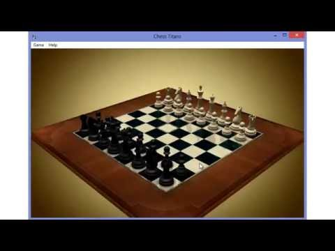 Chess Titans For Windows 8! (2 Test Games)