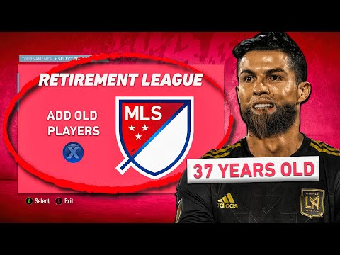 MLS RETIREMENT LEAGUE CHALLENGE! (ALL OLD PLAYERS TO MLS!)