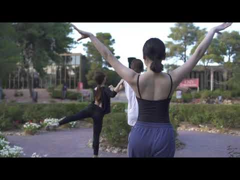 UNLV Dance - Ballet Prep for #ArtWalkUNLV